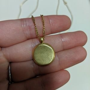 Madewell Jewelry - Madewell coin necklace set